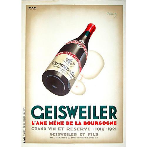 Burgundy Wine Poster