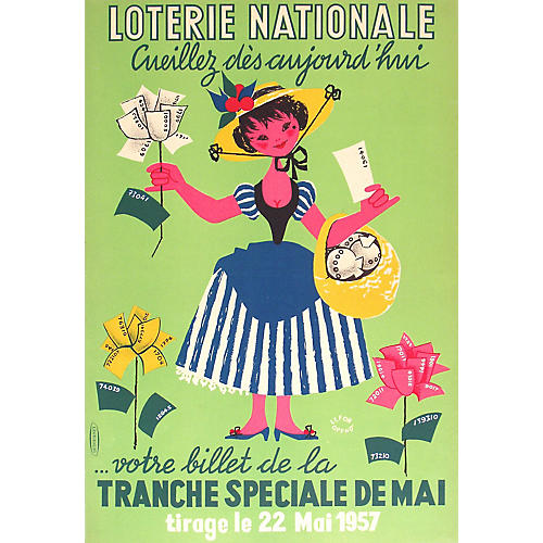 Loterie Nationale Garden Poster