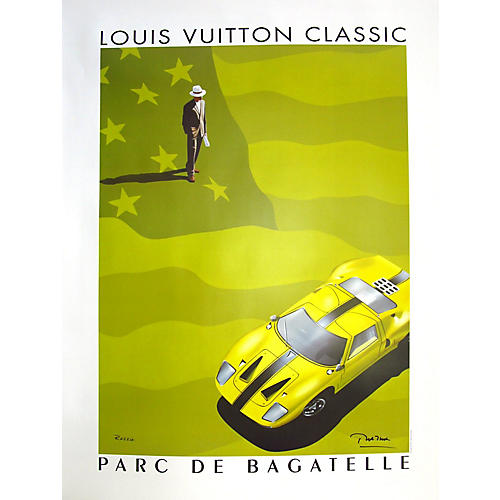 Louis Vuitton Classic Ford GT Poster