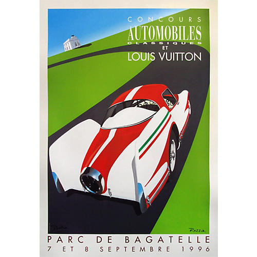 LV Classic Car Competition 1996 Poster