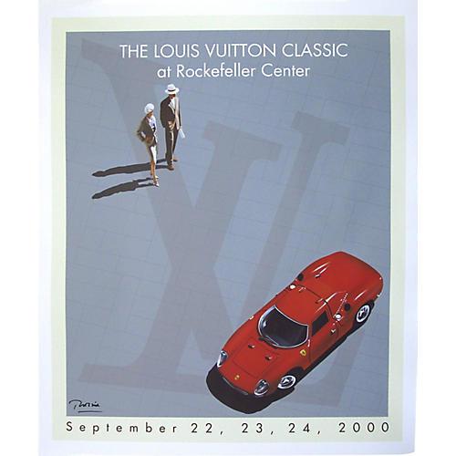 Louis Vuitton Classic Car Show Poster