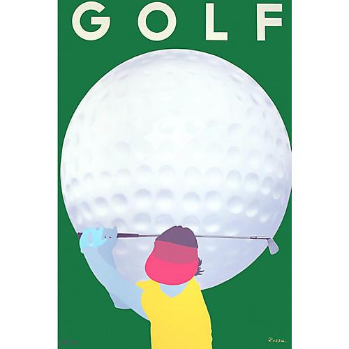 Golf Poster, 1982
