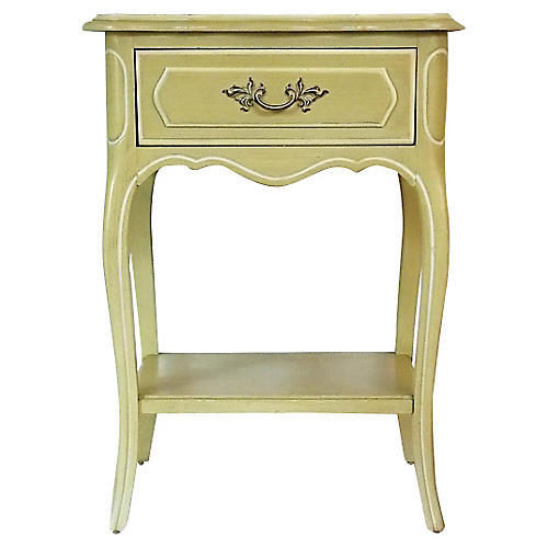 French Regency-Style Nightstand