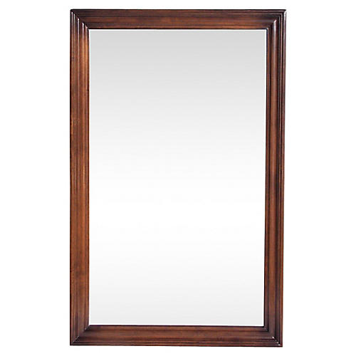 Walnut Mirror by Ethan Allen