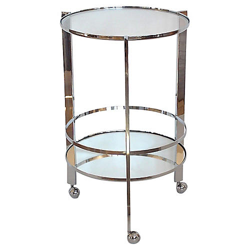 Modernist Bar Cart