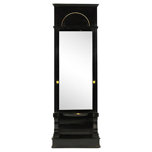 Biedermeier Black Mirror