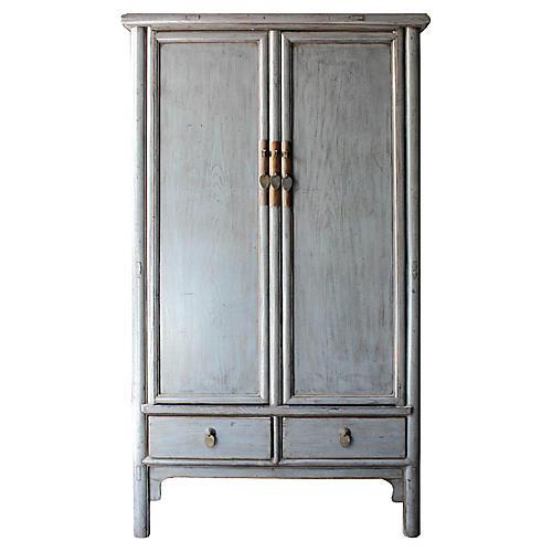 Gray Shandong Cabinet