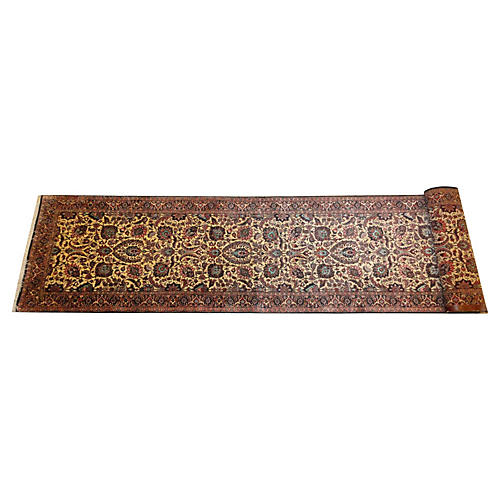 Persian Bijar Runner, 13' x 2'8""