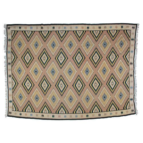 "Navajo-Style Kilim, 9'3"" x 12'6"""