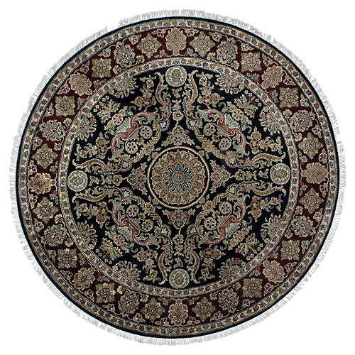 Tabriz-Style Rug, 6' x 6'