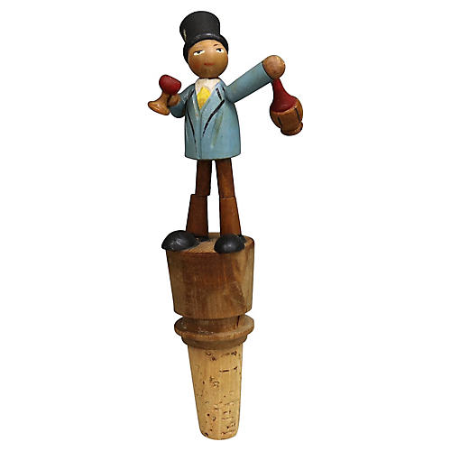 Black Forest Animated Wine Stopper