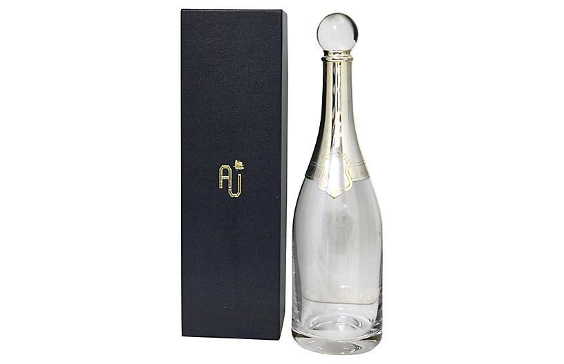 Annabel Jones Champagne Decanter
