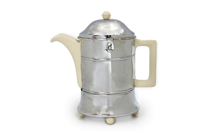 Art Deco Coffee Pot w/ Insulated Cozy