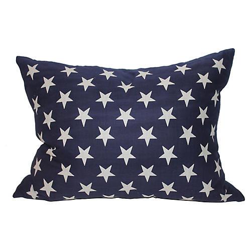 Stars American Pillow