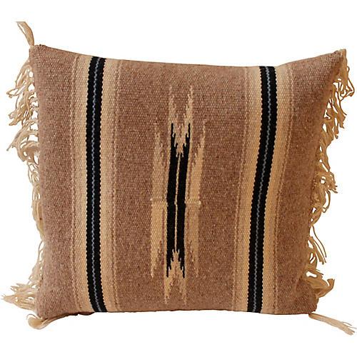 Small Weaving Pillow, 14x14