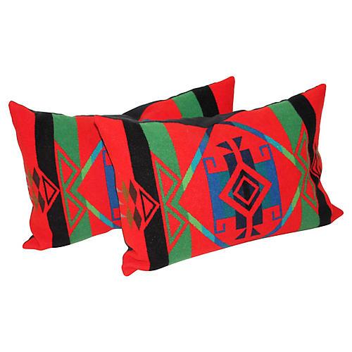 Pendleton Camp Blanket Pillows, Pair