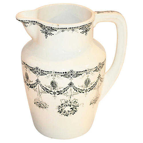 Early-20th-C. English Pitcher