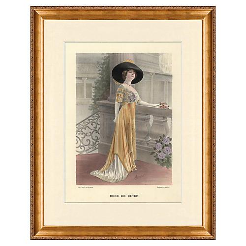 Haute Couture Fashion, 1912