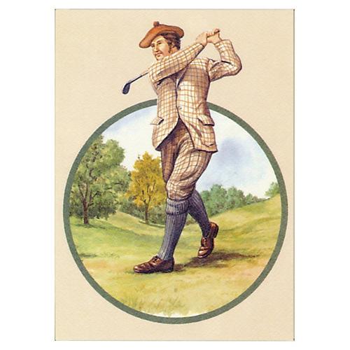 Golfer Print, 1989