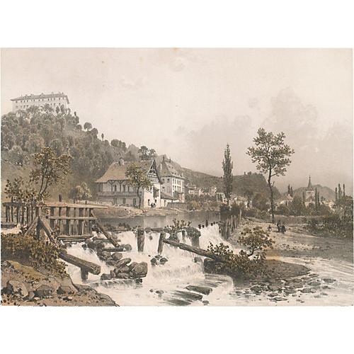 French Scene VII, 1861