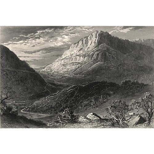 Cumberland Gap, Tennessee, 1872