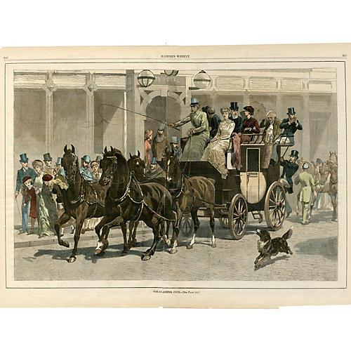 Horse & Carriage I, C. 1870
