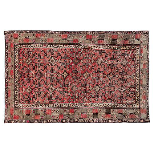 """Persian Rug, 4' x 6'3"""""""
