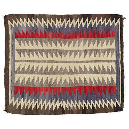 "Navajo-Style Rug, 2'8"" x 3'"