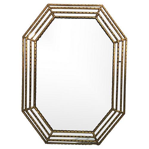 LaBarge Octagonal Mirror