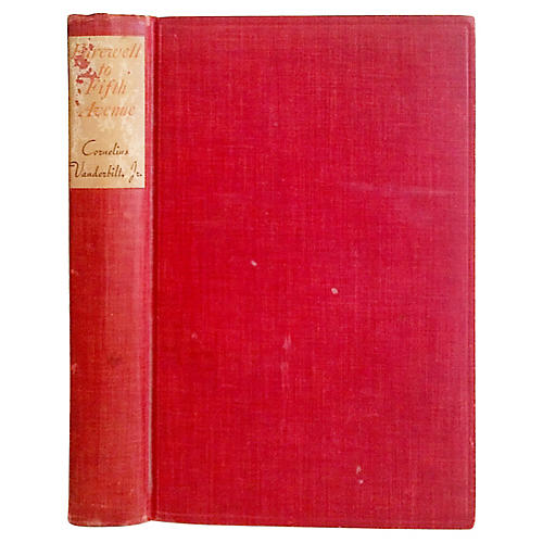 Farewell to Fifth Avenue, 1st Ed