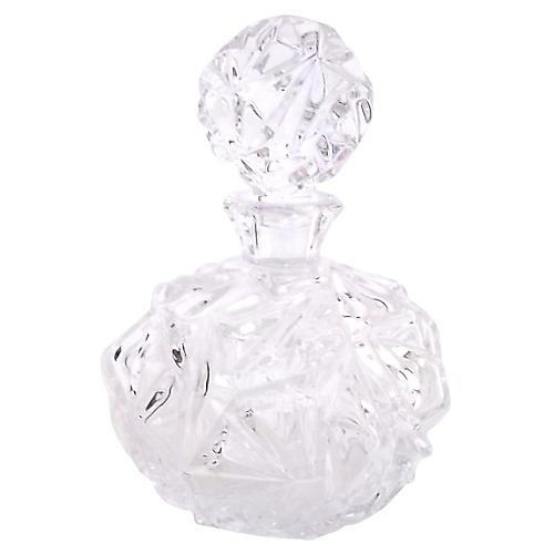 Tiffany & Co. Crystal Perfume Bottle