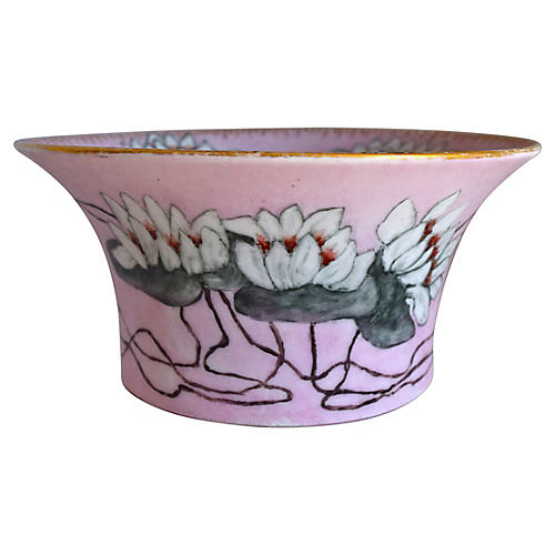 French Water Lily Bowl, 1917