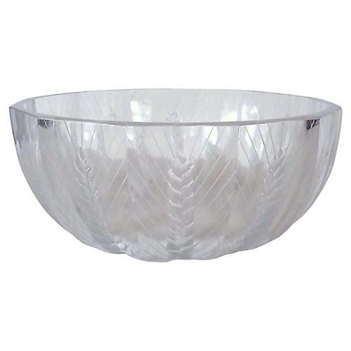 Lalique Crystal Ceres Bowl