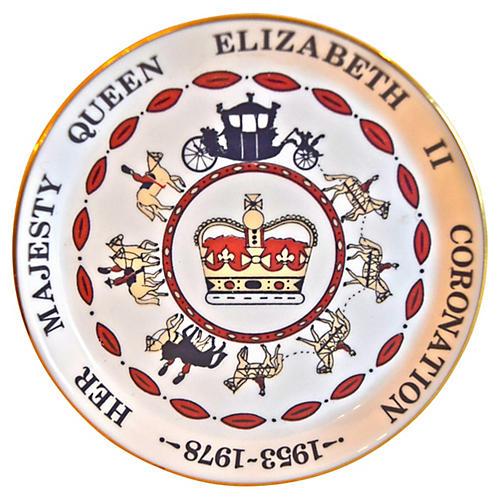 Queen Elizabeth II Ashtray