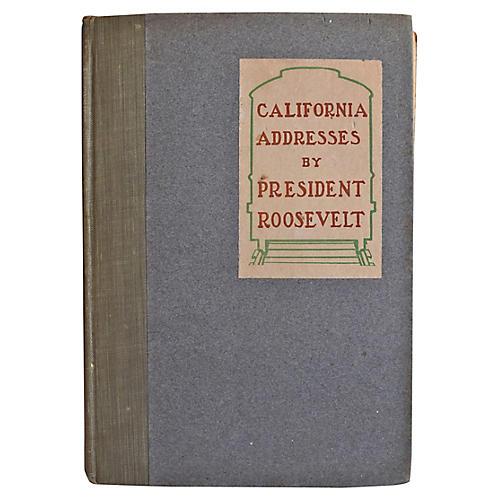 California Addresses, 1st Ed
