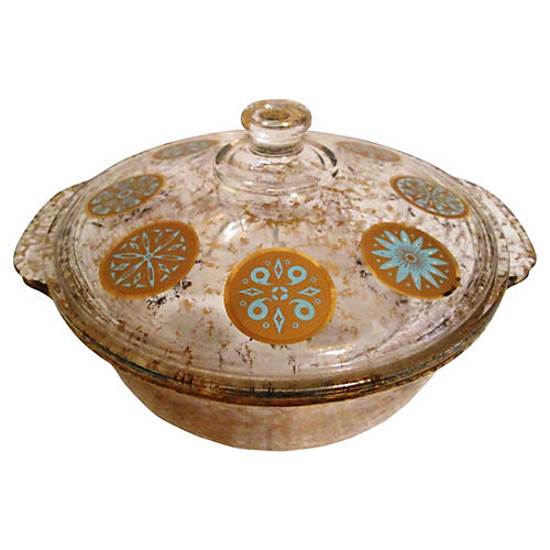 Georges Briard Fire King Casserole Dish