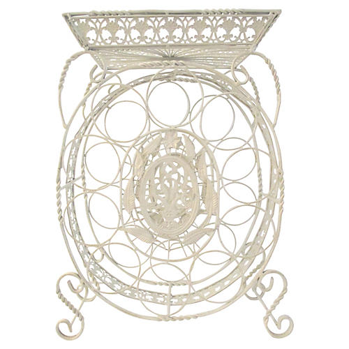 French Provincial Design Wine Rack