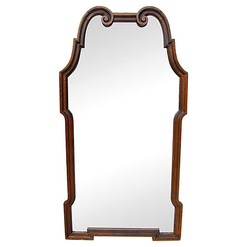 La Barge-Style Scroll Mirror