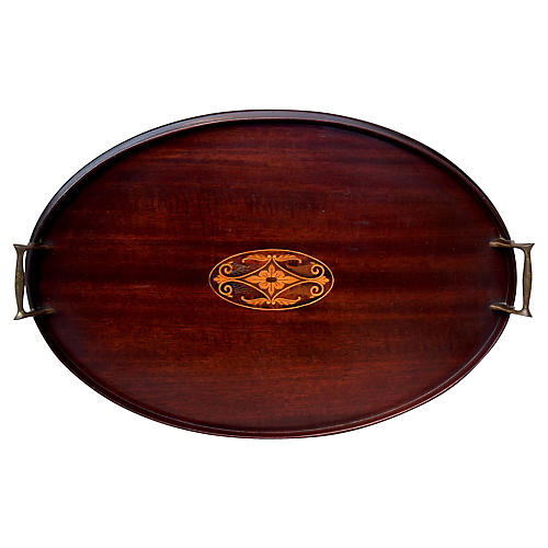 Mahogany Serving Tray
