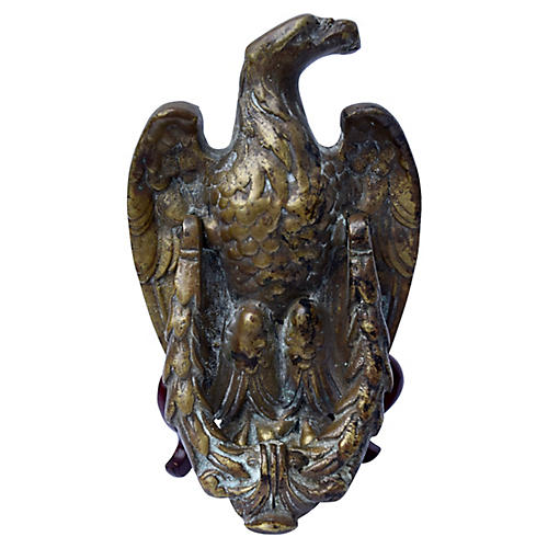 Solid Brass Eagle Door Knocker