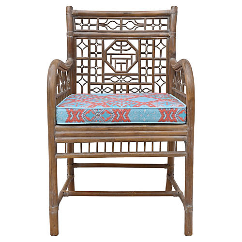 Bent-Bamboo Accent Chair