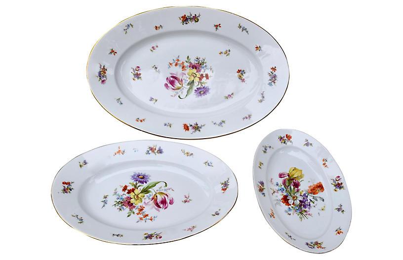 Oval Serving Platters, Schwarzburg, S/3