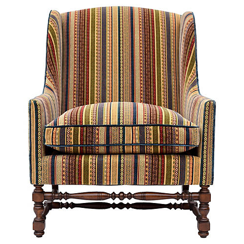 Baker Furniture Company Wingback Chair