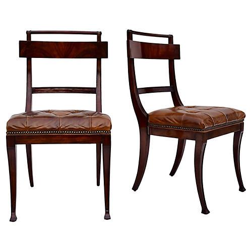 Henredon Hanover Dining Chairs, Pair