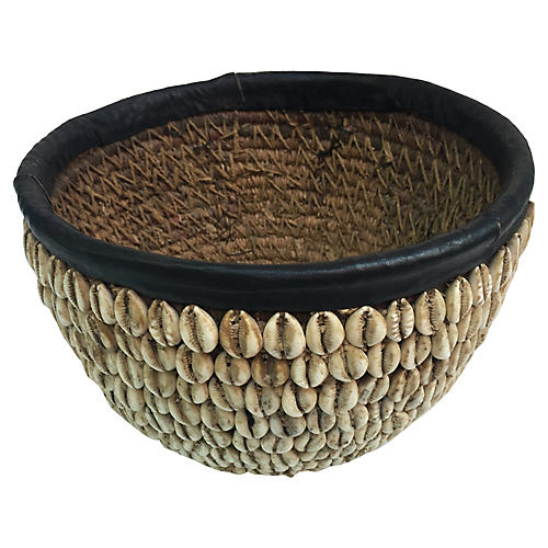 African Tribal Basket