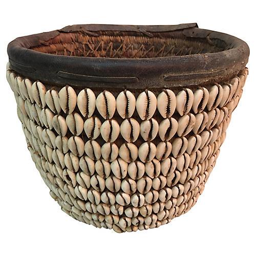 Nigerian Shell Basket