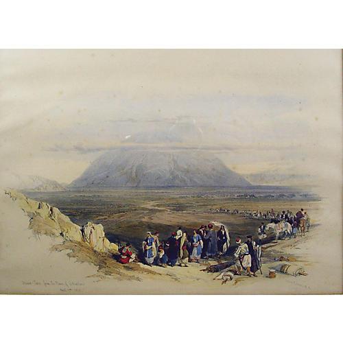 Mount Tabor, from the Plain of Esdraelon