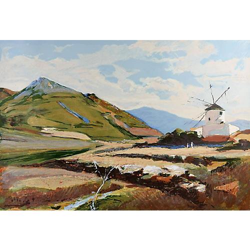 Portuguese Landscape by E. R. Kinstler