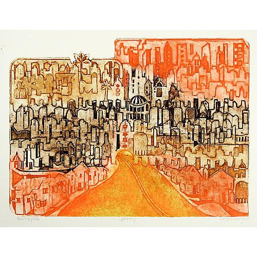Metropolis by Anita Klebanoff