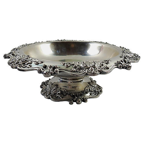 Reed & Barton Silver-Plate Compote